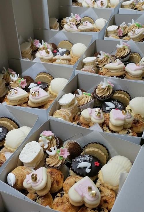 Ochutnávka svatebního cukroví